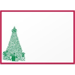 Pickett's Press - Engraved Holiday Christmas Tree Note Cards found on Bargain Bro UK from Wolf and Badger