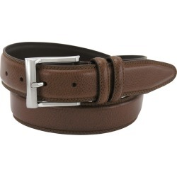 Florsheim 32mm Pebble Grain Leather Belt Brown Misc Accessories 46 found on Bargain Bro Philippines from Shoemall.com for $29.95