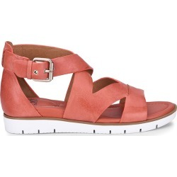 Sofft Mirabelle Women's Orange Sandal 9 M found on Bargain Bro India from Shoemall.com for $89.95