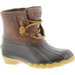 Sperry Top-Sider Saltwater T Unisex Toddler Brown Boot 6 Toddler M found on Bargain Bro India from Shoemall.com for $64.95
