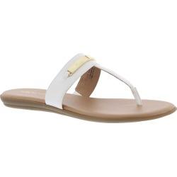 Aerosoles On the Chlock Women's White Sandal 6.5 M