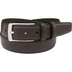 Florsheim 32mm Italian Leather Belt Brown Misc Accessories 44 found on Bargain Bro Philippines from Shoemall.com for $54.95