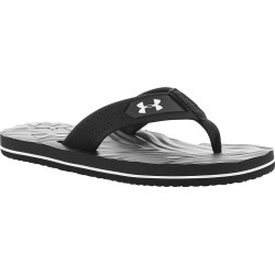Under Armour Marathon Key IV T Boys' Youth Black Sandal 2 Youth M