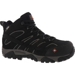 Merrell Work Moab Vertex Mid WP CT Men's Black Boot 8.5 W found on Bargain Bro from Shoemall.com for USD $117.76