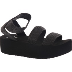 Billabong Foreshore Women's Black Sandal 6 M found on MODAPINS from Shoemall.com for USD $45.95