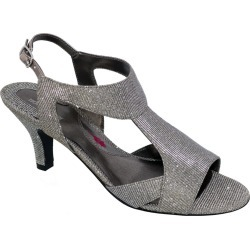 Ros Hommerson Lucky Women's Silver Pump 12 W