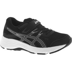 Asics Gel-Contend 6 PS Boys' Toddler-Youth Black Running 3 Youth M found on MODAPINS from Shoemall.com for USD $49.95