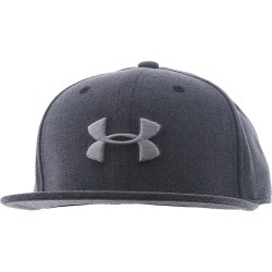 Under Armour Boys' Huddle Snapback 2.0 Cap Black Hats One Size