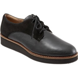 Soft Walk Willis Women's Black Oxford 6 W found on Bargain Bro Philippines from Shoemall.com for $99.95