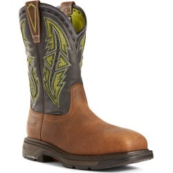 Ariat Workhog XT Venttek Carbon Toe Men's Brown Boot 12 E2 found on Bargain Bro Philippines from Shoemall.com for $219.95