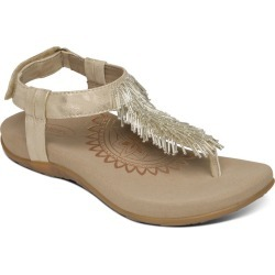 Aetrex Portia Women's Bone Sandal Euro 40 US 9 - 9.5 M found on Bargain Bro Philippines from Shoemall.com for $99.95
