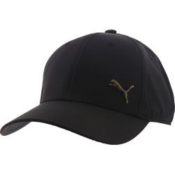 Puma Men's Evercat Alloy Stretch Fit Cap Black Hats S/M