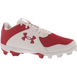 Under Armour Leadoff Low RM Men's Red Baseball 11 M found on Bargain Bro India from Shoemall.com for $39.95