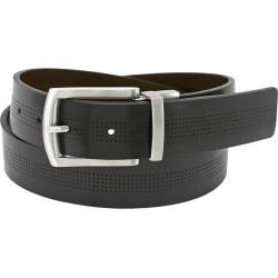 Florsheim 35mm Reversible Leather Belt Black Misc Accessories 44 found on Bargain Bro Philippines from Shoemall.com for $34.95