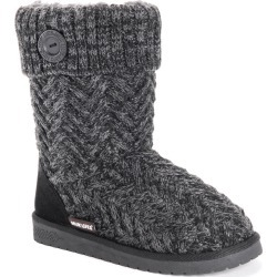 MUK LUKS Janet Women's Black Boot 7 M found on Bargain Bro Philippines from Shoemall.com for $34.99