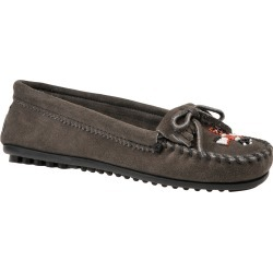 Minnetonka Women's Thunderbird II Slip-On Grey Slip On 7 M found on Bargain Bro from Shoemall.com for USD $41.76