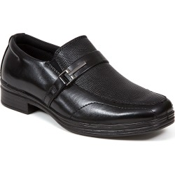 Deer Stags Bold Boys' Toddler-Youth Black Slip On 5 Youth M