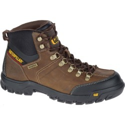 Caterpillar Threshold WP Soft Toe Men's Brown Boot 10.5 M found on Bargain Bro India from Shoemall.com for $94.95