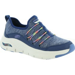 Skechers Sport Arch Fit-Rainbow View Women's Blue Sneaker 8.5 M found on Bargain Bro India from Shoemall.com for $74.95
