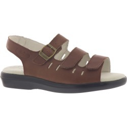 Propet BREEZE WALKER Women's Brown Sandal 7 D found on Bargain Bro India from Shoemall.com for $76.95