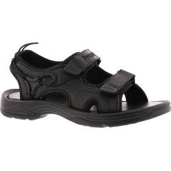 Propet Surfwalker II Men's Black Sandal 8 D found on Bargain Bro India from Shoemall.com for $68.95