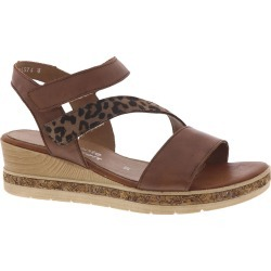 Remonte Jerilyn 54 Women's Tan Sandal Euro 37 US 6 - 6.5 M found on Bargain Bro from Shoemall.com for USD $78.27
