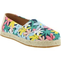 TOMS Alpargata Girls' Toddler-Youth Multi Slip On 4.5 Youth M found on Bargain Bro India from Shoemall.com for $37.99
