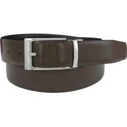 Florsheim 32mm Reversible Leather Belt Black Misc Accessories 42 found on Bargain Bro Philippines from Shoemall.com for $64.95