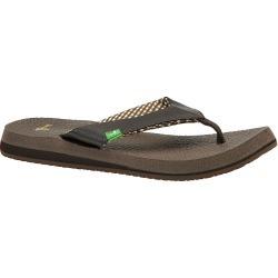 Sanuk Yoga Mat Women's Brown Sandal 6 M