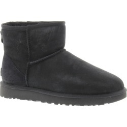 UGG Classic Mini II Women's Black Boot 5 M found on Bargain Bro Philippines from Shoemall.com for $149.95