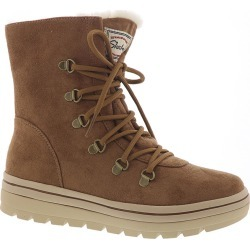 Skechers USA Street Cleat-Snowslide Women's Brown Boot 9.5 M found on Bargain Bro India from Shoemall.com for $69.95