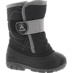 Kamik Snowbug 3 Boys' Infant-Toddler Black Boot 5 Infant M found on Bargain Bro Philippines from Shoemall.com for $51.99