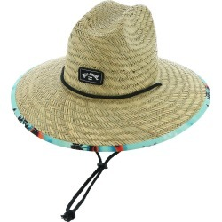 Tides Print Hat Blue Hats One Size