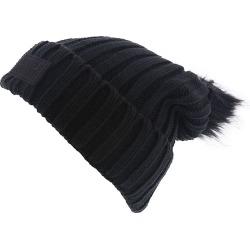 Under Armour Snowcrest Pom Beanie Women's Black Hats One Size