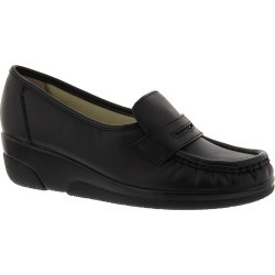Softspots Women's Pennie Slip-On Black Slip On 11 A2 found on Bargain Bro from Shoemall.com for USD $60.76