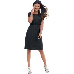 Pocket Perfect Knit Dress Black Dresses S found on Bargain Bro India from Shoemall.com for $19.95