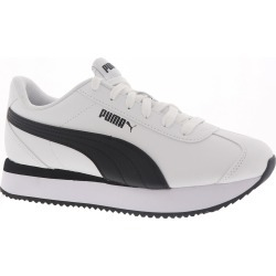 PUMA Turino Stacked Women's White Sneaker 6 M found on Bargain Bro Philippines from Shoemall.com for $59.95