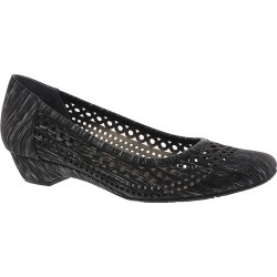 Ros Hommerson Tina Women's Black Slip On 6 S found on Bargain Bro Philippines from Shoemall.com for $89.95