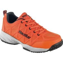 Nautilus Superlight Non Slip Duty Men's Orange Oxford 8 W