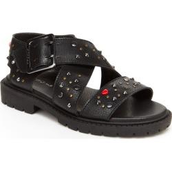 BCBG Girls Carmen Girls' Toddler-Youth Black Sandal 13 Toddler M found on MODAPINS from Shoemall.com for USD $48.95