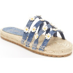 BCBG Girls Alexis Girls' Toddler-Youth Navy Sandal 12 Toddler M found on MODAPINS from Shoemall.com for USD $41.95