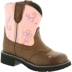 Justin Boots Gypsy Collection 9206JR Girls' Toddler-Youth Brown Boot 11.5 Toddler D found on Bargain Bro India from Shoemall.com for $79.95