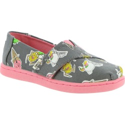 TOMS Alpargata Tiny Girls' Infant-Toddler Grey Slip On 7 Toddler M found on Bargain Bro India from Shoemall.com for $30.99