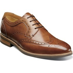 Florsheim Uptown Wingtip Oxford Men's Brown Oxford 11 D found on Bargain Bro Philippines from Shoemall.com for $114.95