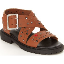 BCBG Girls Carmen Girls' Toddler-Youth Tan Sandal 2 Youth M found on MODAPINS from Shoemall.com for USD $48.95