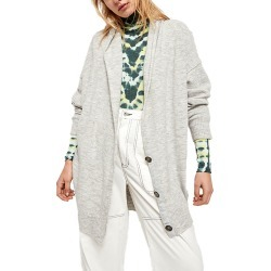 Free People Women's Eucalyptus Cardi Grey Sweaters XS