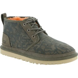 UGG Neumel Street Graffiti Women's Grey Boot 5 M found on Bargain Bro Philippines from Shoemall.com for $90.99