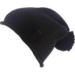 Under Armour Women's Essentials Pom Beanie Black Hats One Size