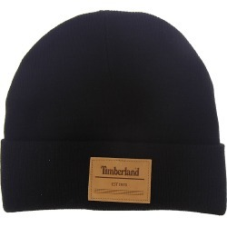 Timberland Men's Short Watch Cap Black Hats One Size