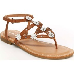 BCBG Girls Cote Girls' Toddler-Youth Tan Sandal 13 Toddler M found on MODAPINS from Shoemall.com for USD $38.95